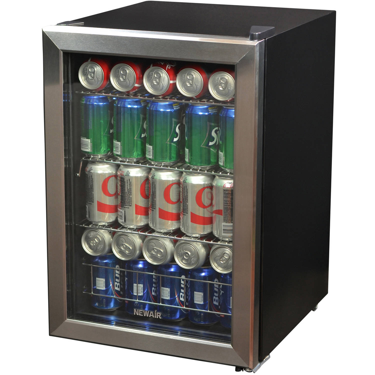 NewAir 84-Can Stainless Steel Beverage Refrigerator