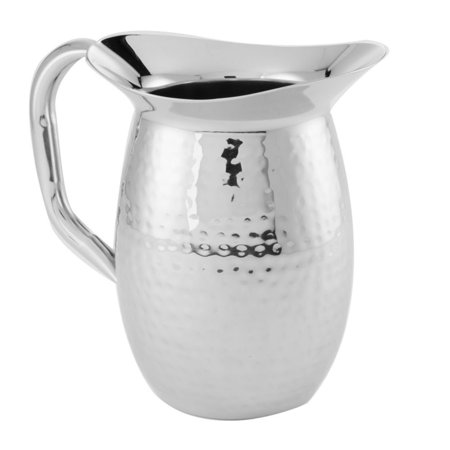 American Metalcraft HMWP44 Hammered S/S 44 Oz. Bell Shaped (American Metalcraft Pitcher)