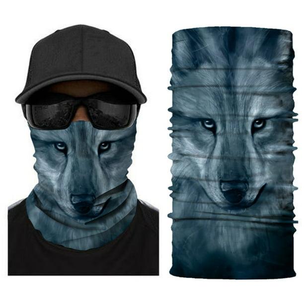 Details about  /Balaclava Neck Gaiter Tube Scarf Bandana Face Scarf Beanie Outdoor Headwear New