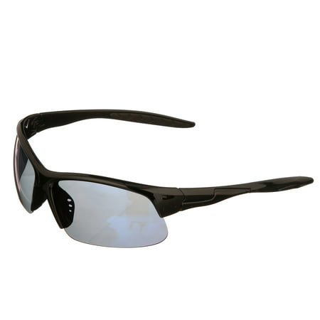 Polarized Glasses, Black Frame/Mirror (Kids Polarized Fishing Glasses)