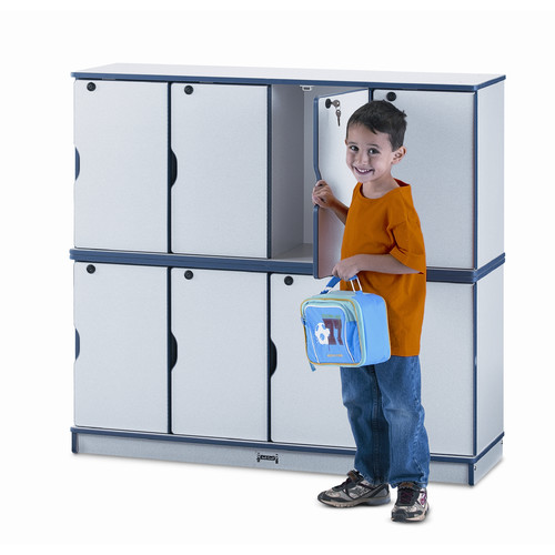 Jonti-Craft 2 Tier 4 Wide School Locker