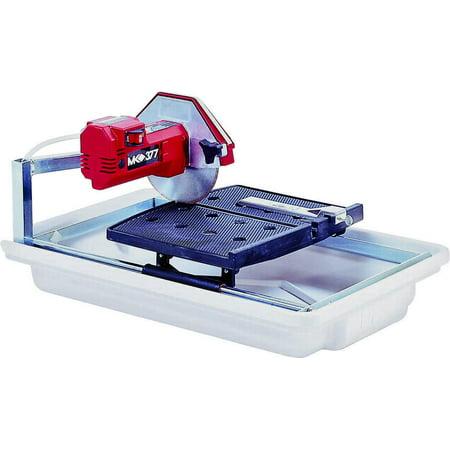 MK Diamond 160028 Corded Tile Saw, 120 V, 5 A, 1/2 hp, 7 in Blade, 5500 rpm ()