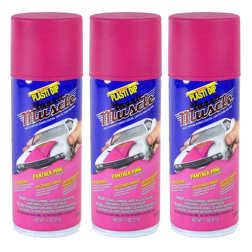 Performix Plasti Dip Muscle Car 11302 Panther Pink Rubber Spray 3 PACK