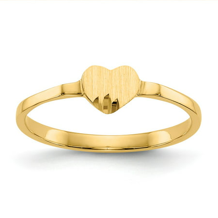 Other Fine Rings Hearty 10ct Yellow Gold Engravable Signet Ring