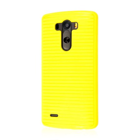 LG G3 Case, EMPIRE GRUVE Full Protective Shock Resistant Soft Textured Non Slip Flexible TPU Slim Case for G3 [Perfect Fit & Precise Port Cut Outs] -