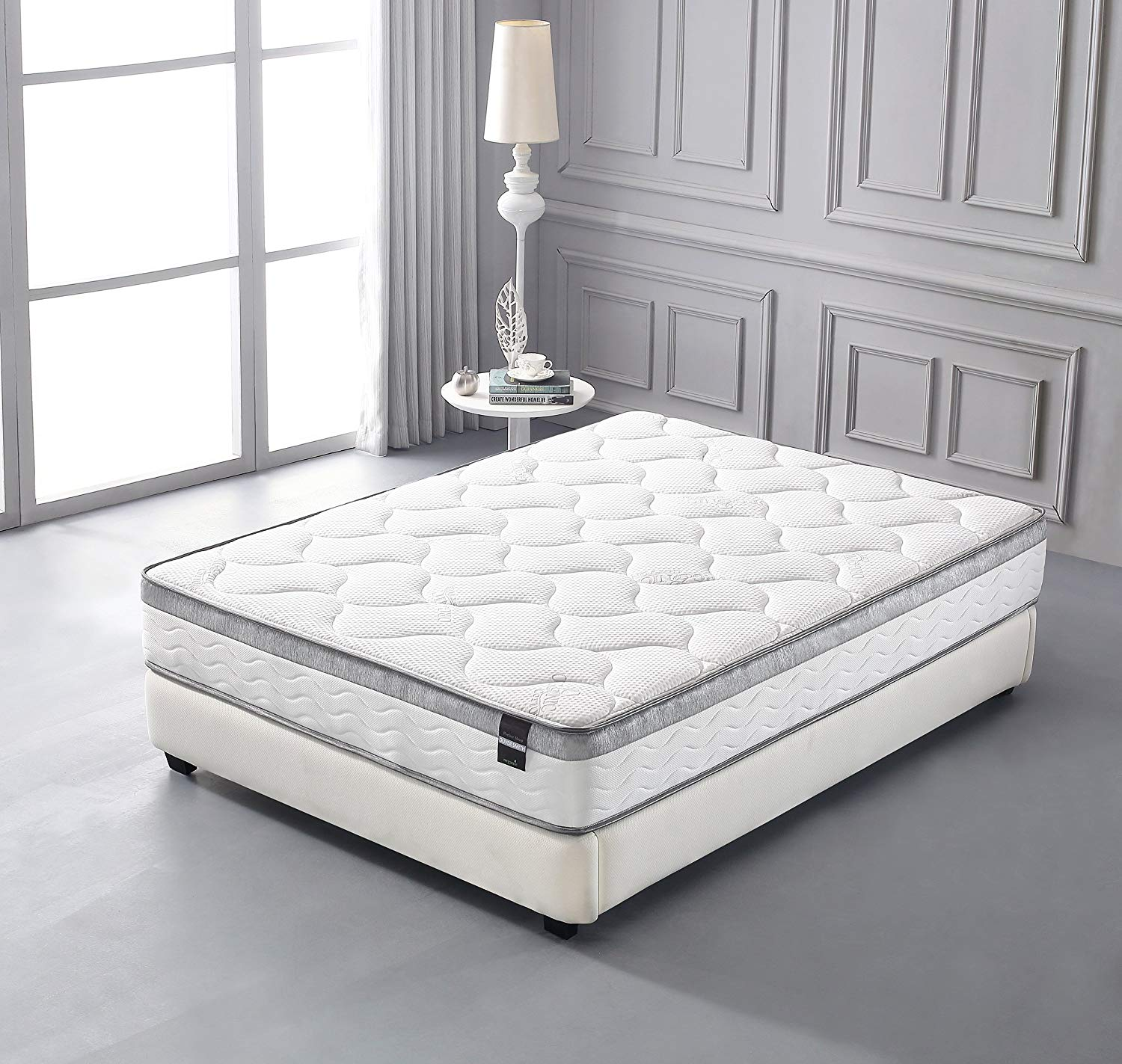 10 inch Memory Foam and Spring Hybrid Full Size Mattress - Walmart