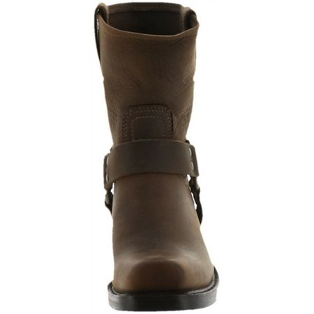 Frye Leather Pull On Ankle Boots Harness 8R Women's A305255 - image 4 of 4