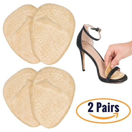 Metatarsal Pads for Women | Ball of Foot Cushions (2 Pairs Foot Pads) All Day Pain Relief and Comfort One Size Fits Shoe (Best Ball Of Foot Pains)