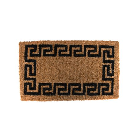 West Coast Paracord Heavy Brush Doormats - Natural Cocoa Fiber Fun Design Mats - 1.5 Inches Thick - 24 Ounce Per Square Foot Rating Quality Coir (Cost Of Carbon Fiber Per Square Inch)