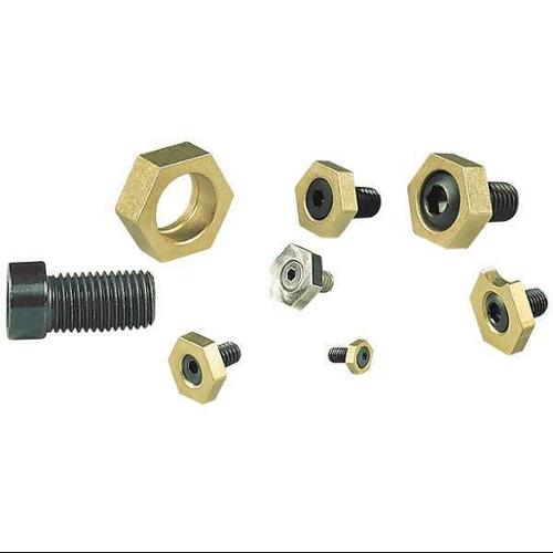 MITEE-BITE PRODUCTS INC 10202 Fxture Clamps, Cam Action, 8-32, 3/8in, PK10