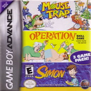 Mouse Trap / Operation / Simon CARTRIDGE ONLY (Game Boy Advance) - Pre-Owned