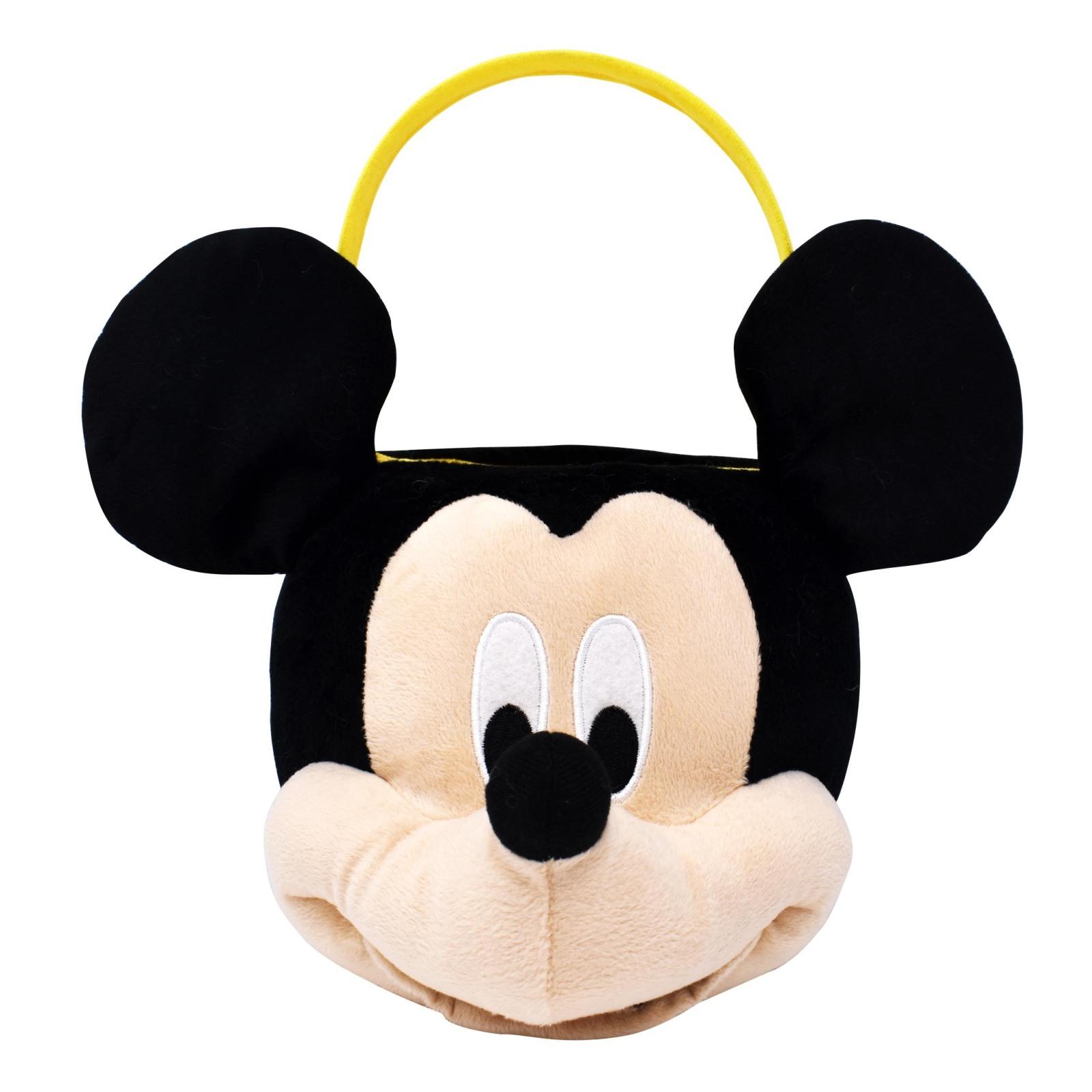 Disney Mickey Mouse Medium Plush Easter Basket