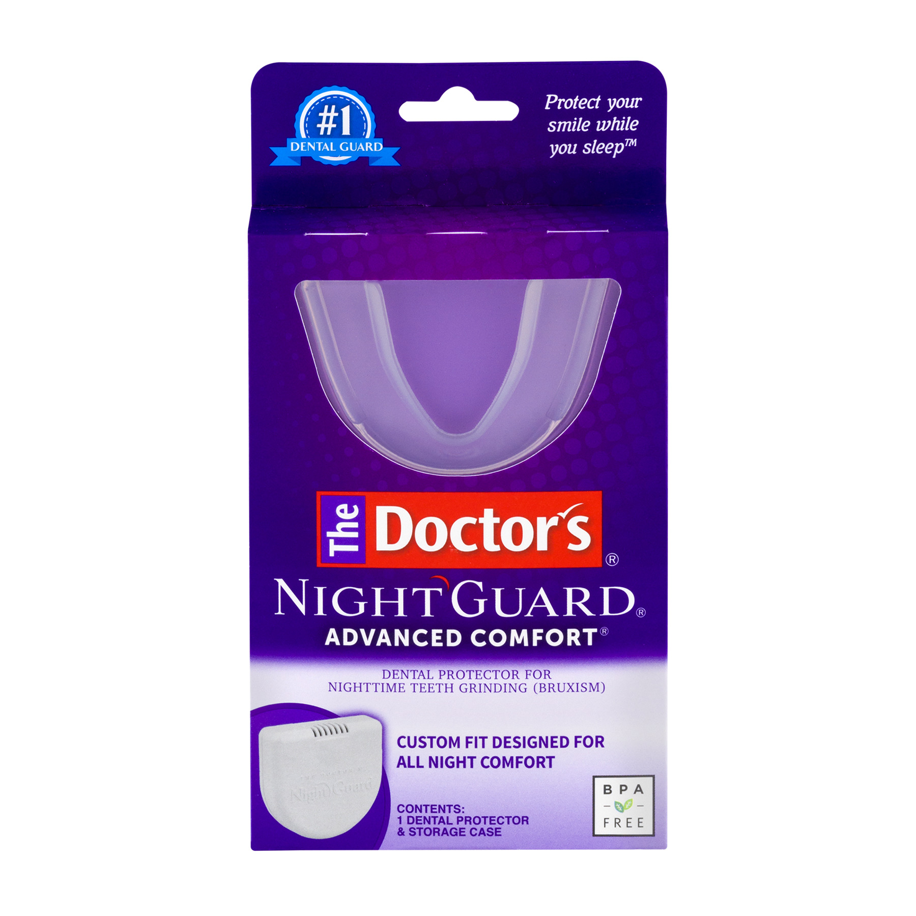 The Doctor's Night Guard Advanced Comfort Dental Protector, 1.0 CT