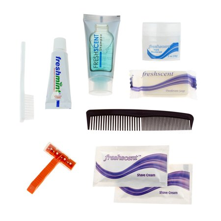 Wholesale Deluxe Hygiene & Toiletries Kit - Bulk Case of 96