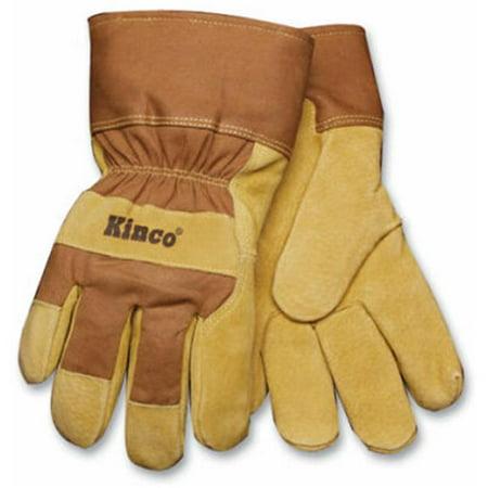 1958 M Men Suede Pigskin Leather Palm Glove - Medium