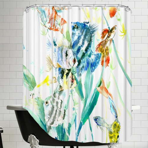 Americanflat Aquarium Shower Curtain