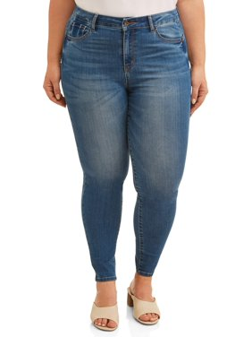 f69aa4b22fe Product Image Juniors  Plus Size High Waisted Push-Up Skinny Jeans