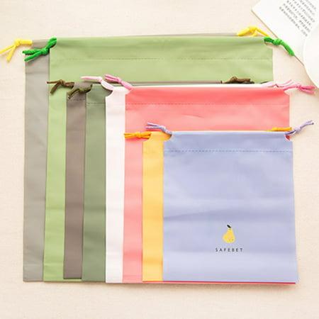 Travel Cartoon Waterproof Drawstring Travel Storage Bag Home Clothing Sorting Bag Bundle Pocket Set Bags - image 5 de 6