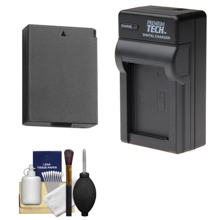 Power2000 LP-E10 Rechargeable Battery with Charger + Kit for Canon EOS Rebel T3, T5, T6 Digital SLR Cameras