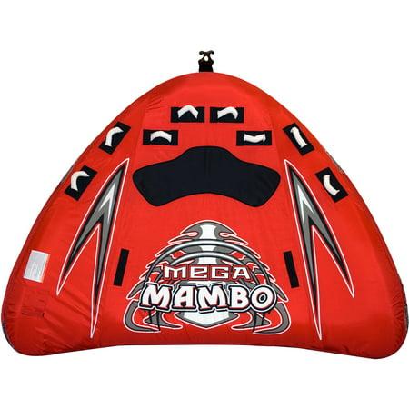 Rave Sports Mega Mambo 4-Rider Sleek Fast Water (Rave Sport Mega Storm 4 Person Towable)