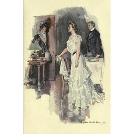 - White dress Canvas Art - Howard Chandler Christy (18 x 24)