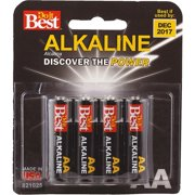 Ray-O-Vac 8 Pack Aa Alkaline Battery DIB815-8CF