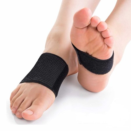 Plantar Fasciitis Arch Support Brace with Copper Compression Technology to Relieve Pain from Heel Spurs, Flat Arches and Foot Pain (1