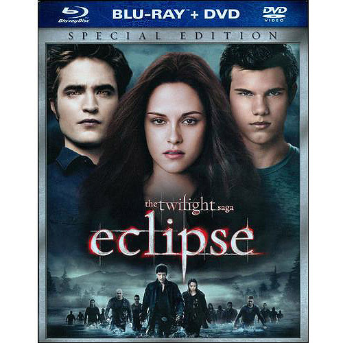 The Twilight Saga: Eclipse (Blu-ray   Standard DVD) (Widescreen)