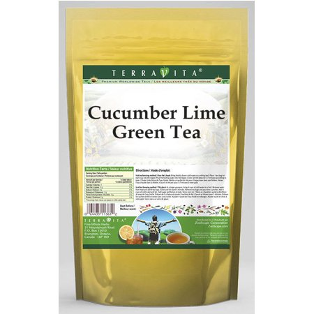 Cucumber Lime Green Tea (25 tea bags, ZIN: 537012) (Cucumber Lime)