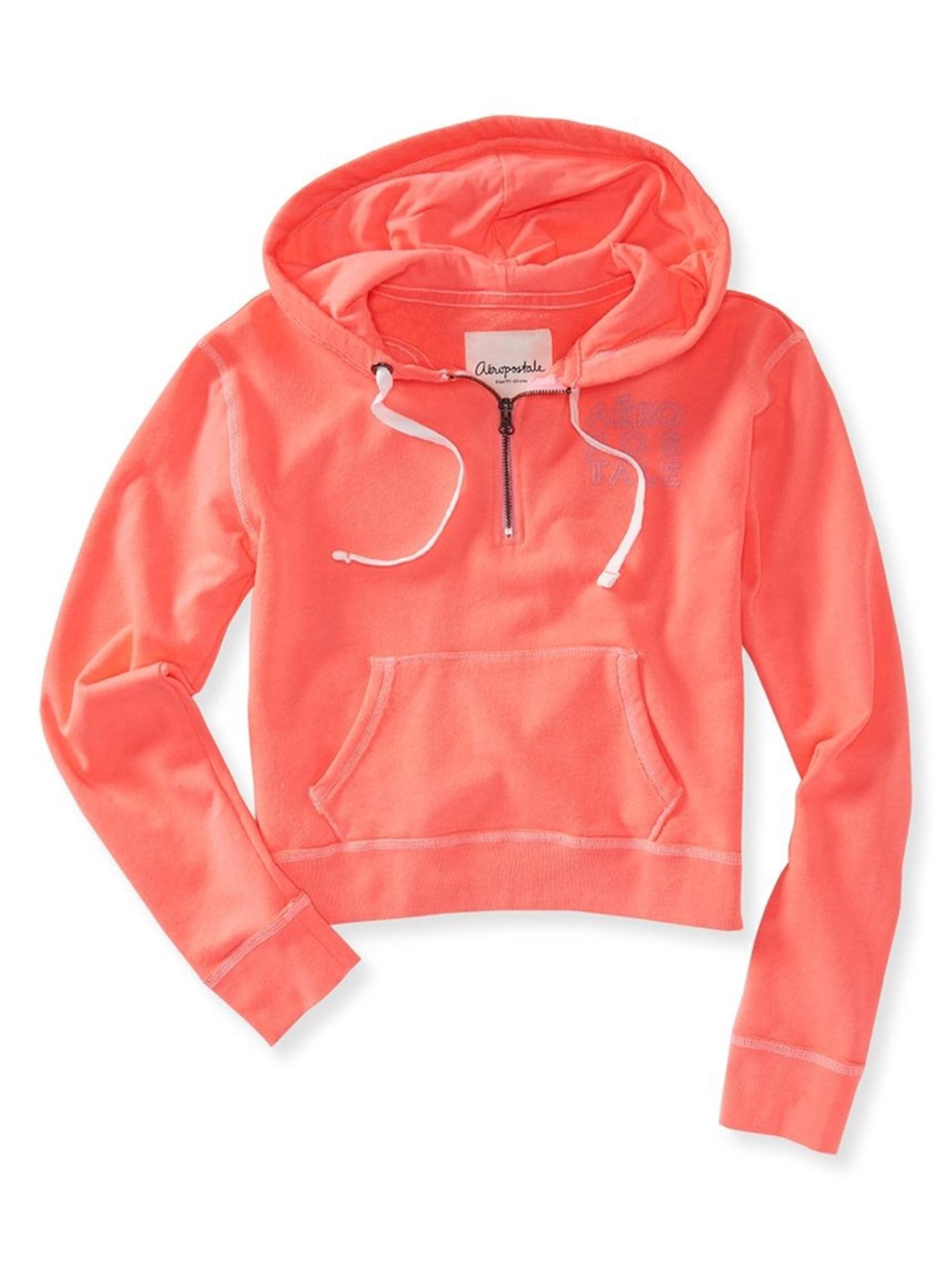 Aeropostale Juniors Aero Cropped Hoodie Sweatshirt