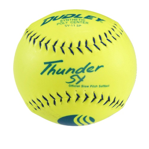 Dudley USSSA 11 in. Thunder SY Classic Softballs - 1 Dozen