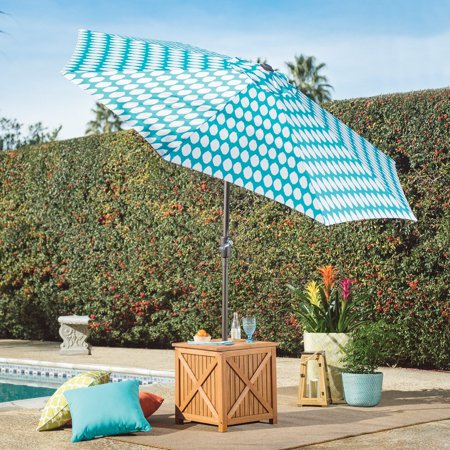 Belham Living Brighton Outdoor Wood Umbrella Table ()