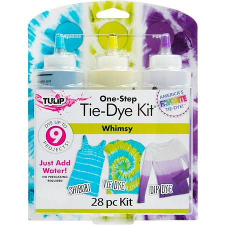 Tulip One Step Tie Dye Whimsy, 3 Color (Tulip Tie Dye Kit)
