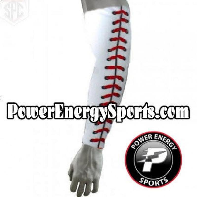 Baseball Sports Compression Arm Sleeve - (Youth Small) Ba...