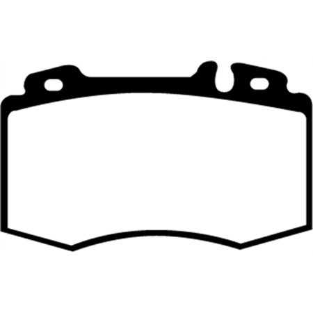 EBC 02-04 Mercedes-Benz C32 AMG (W203) 3 2 Supercharged Redstuff Front  Brake Pads
