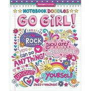 Design Originals Notebook Doodles Go Girl