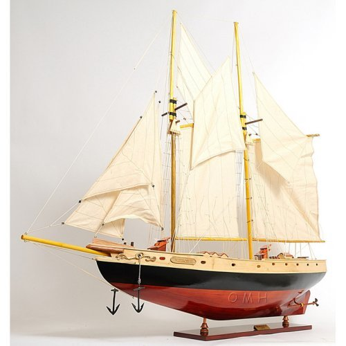 Old Modern Handicrafts Bluenose II Large Model Ship by Overstock
