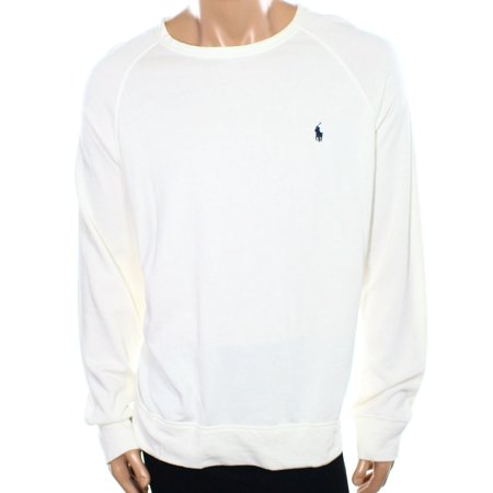577c4d60f Polo Ralph Lauren NEW White Ivory Mens Size XL Crewneck Ribbed Sweater -  Walmart.com