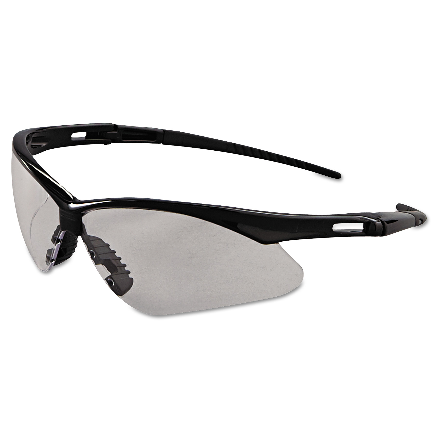 Jackson Safety* Nemesis Safety Glasses, Black Frame, Clear Anti-Fog Lens by Kimberly Clark