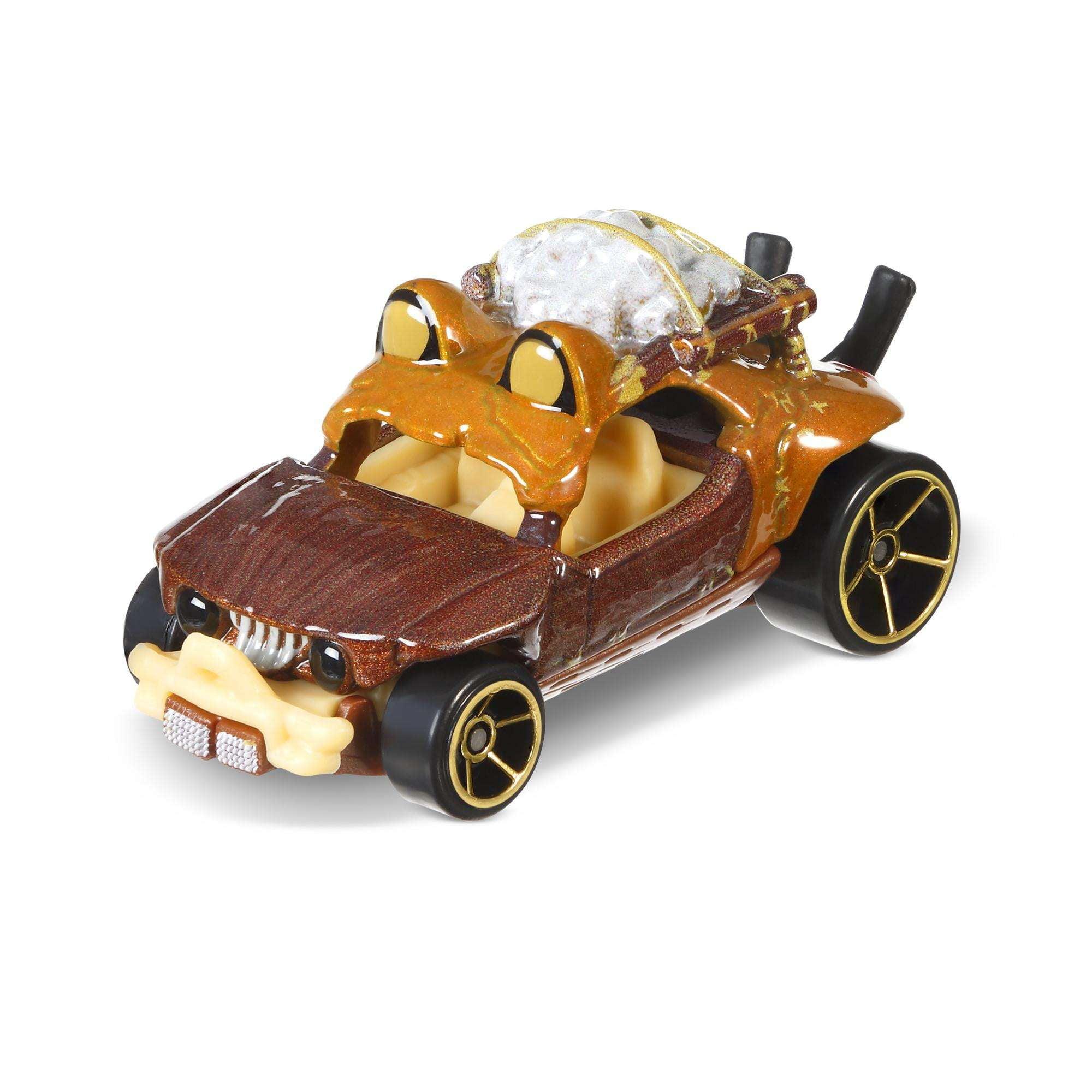 Mattel Hot Wheels Star Wars Rogue One Character Car, Ewok