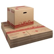 """Pen+Gear Medium Recycled Moving and Storage Boxes, 19"""" L x 14"""" W x 17"""" H, Kraft, 25 Count"""