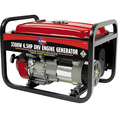 All Power America 3500-Watt 6.5 HP Generator With Recoil Start - CARB Approved