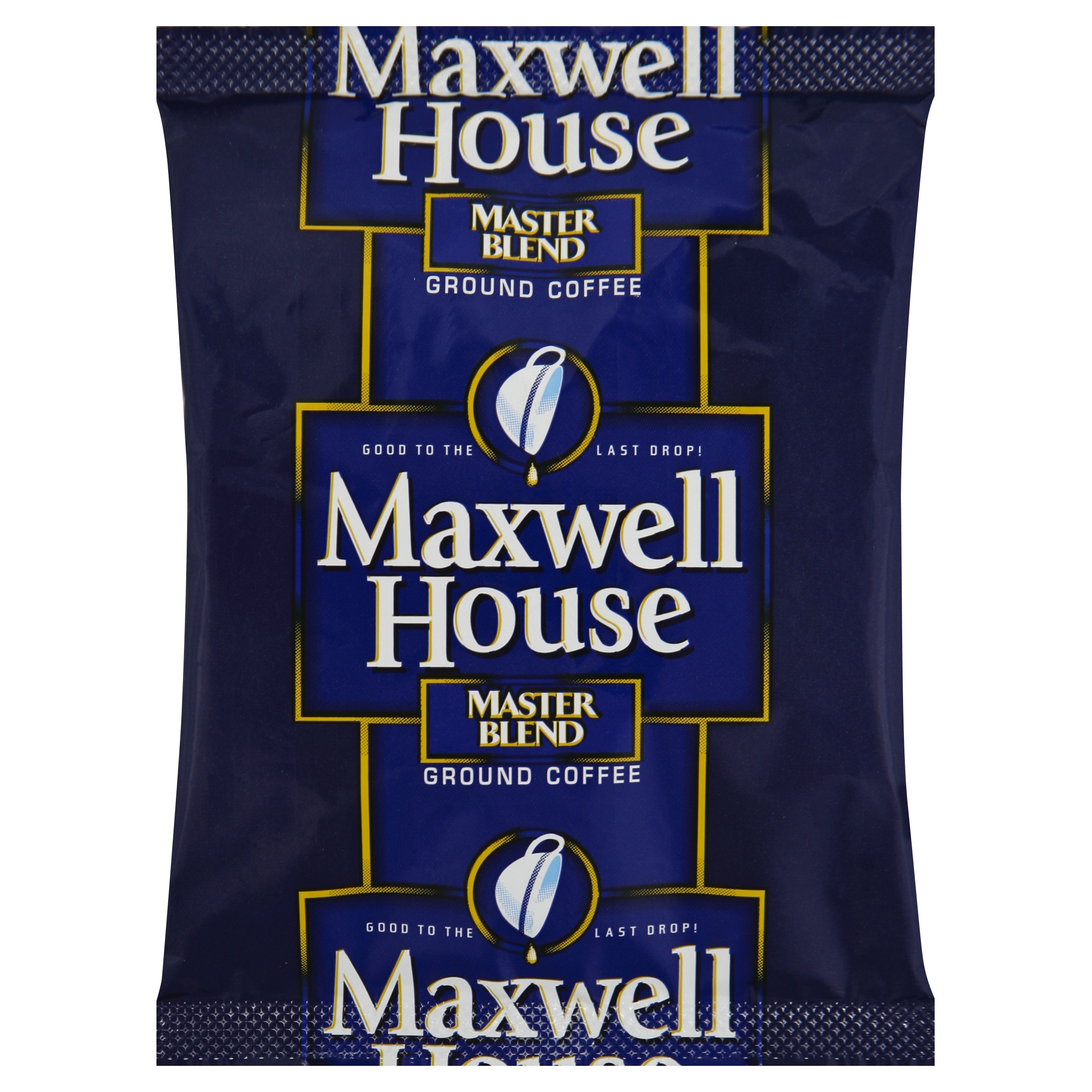 Maxwell House Master Blend Ground Coffee Packages, 1.1 oz (Pack of 42)
