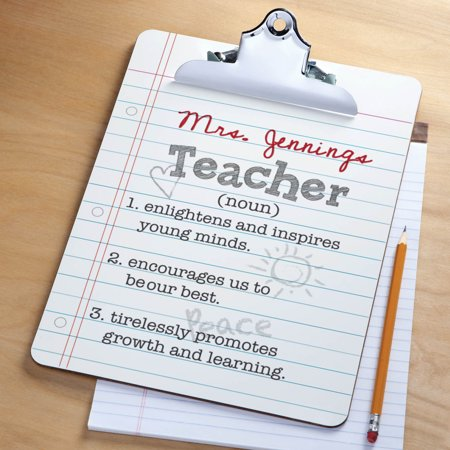 Teacher Definition Personalized Clipboard