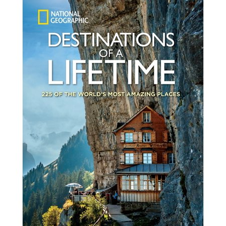 Time Hardback - Destinations of a lifetime - hardcover: 9781426215643