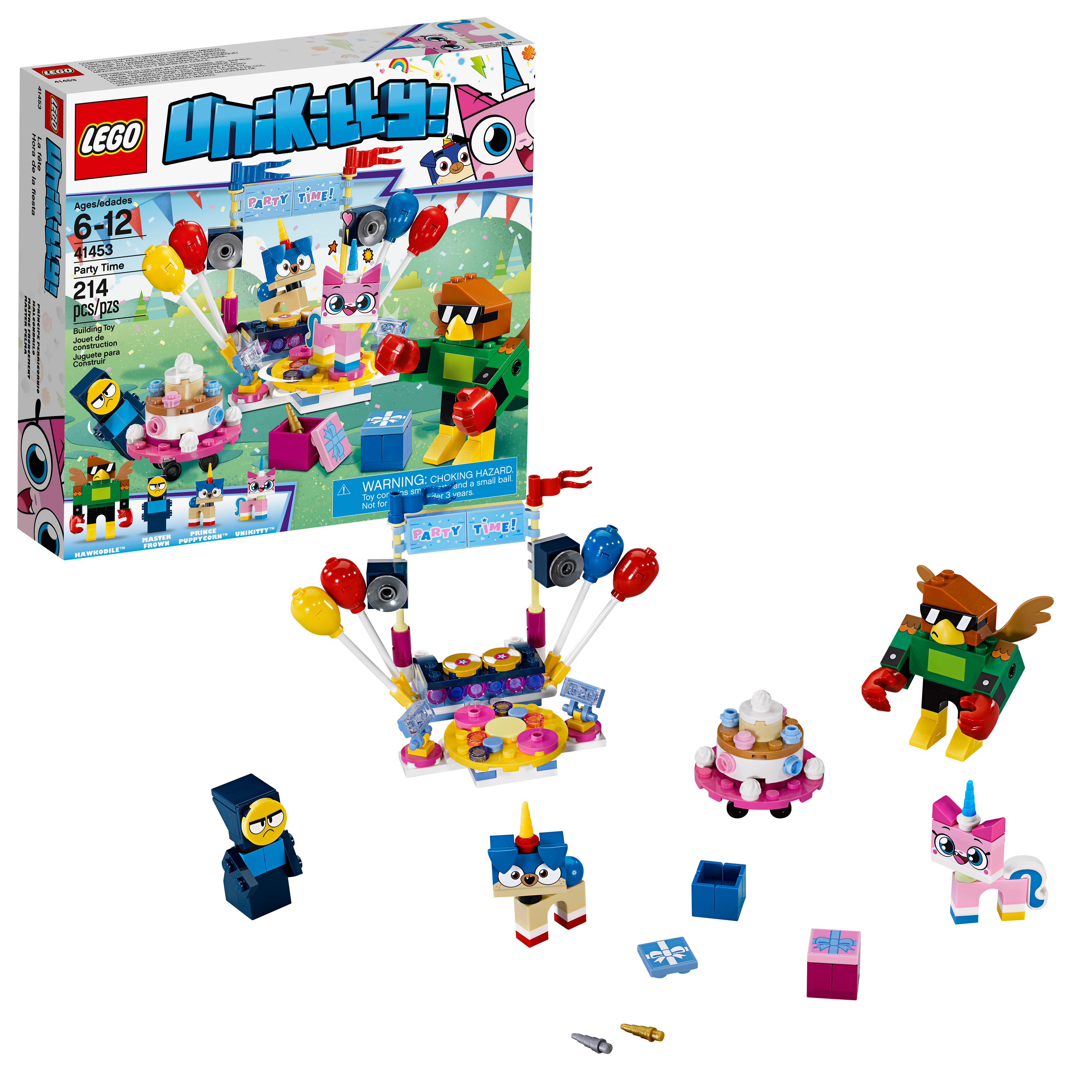 LEGO Unikitty Party Time 41453 Building Set (214 Pieces)