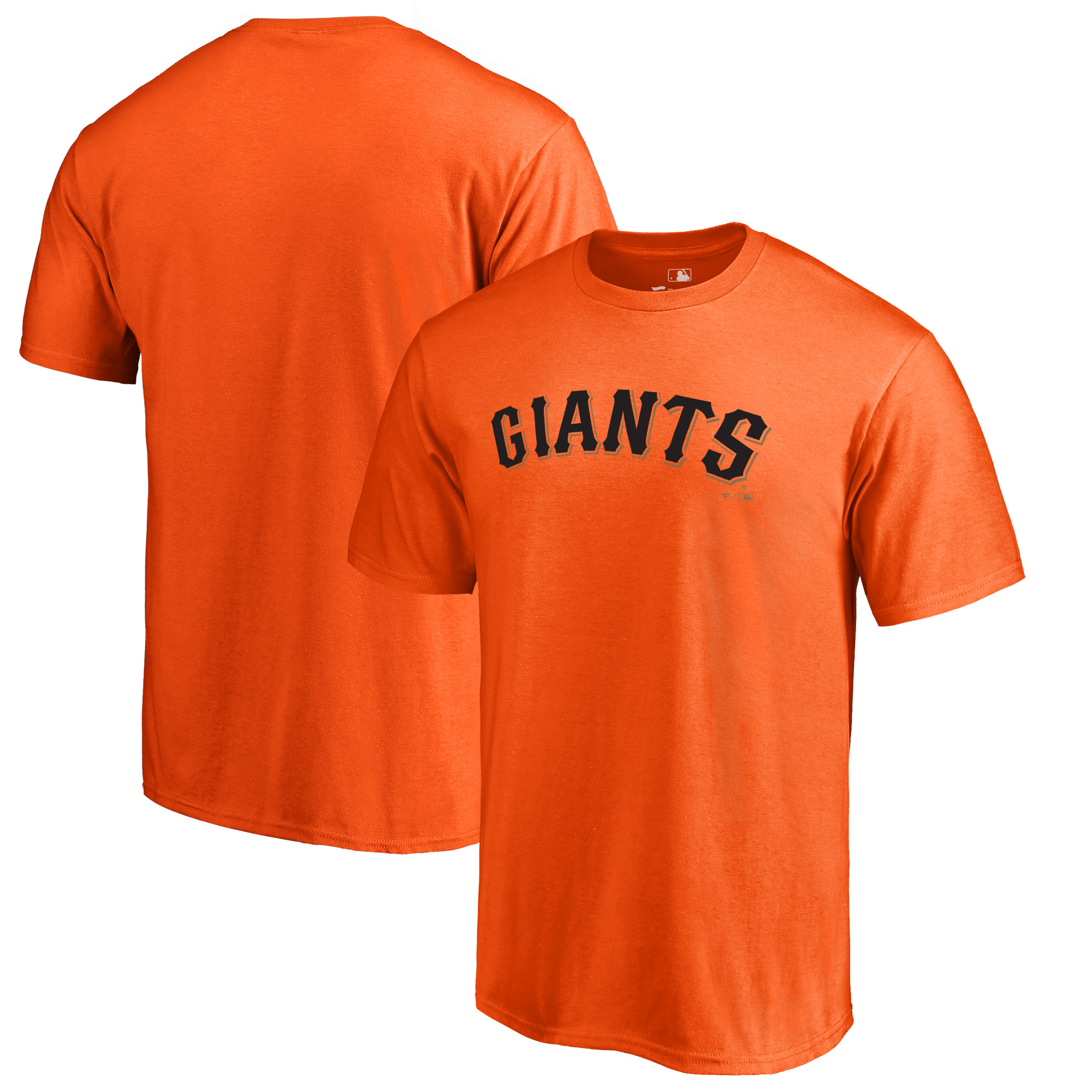 San Francisco Giants Fanatics Branded Team Wordmark T-Shirt - Orange