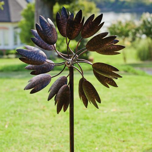 Evergreen Flag & Garden Bloom Kinetic Garden Stake by Evergreen Flag & Garden