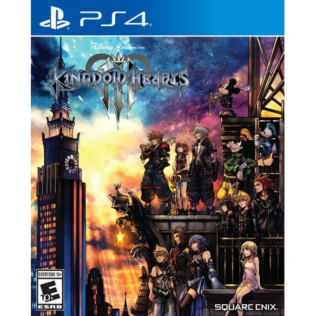 Kingdom Hearts 3, Square Enix, PlayStation 4, (Kingdom Hearts 2 Codes For Action Replay)