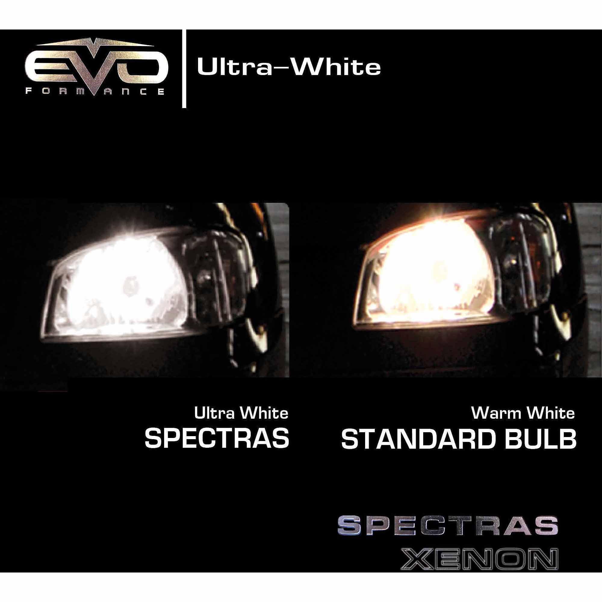 Spectras Xenon H11 Ultra White Halogen Headlight Bulbs